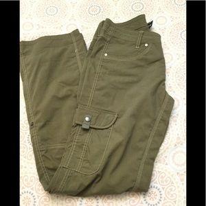 Kuhl Army Green Cargo Outdoor Pants Sz. 4